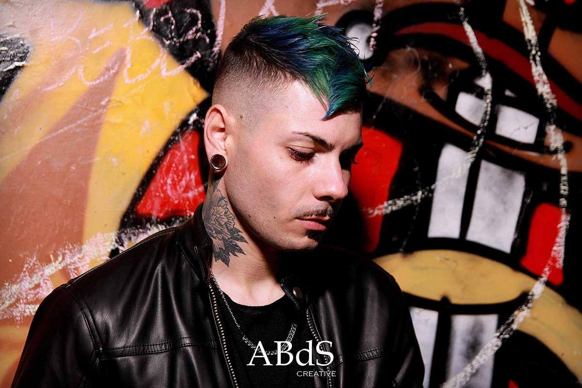Andrea Albani taglio capelli uomo antica barberia da ste